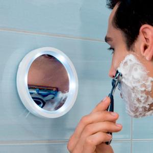 Фото Товары для дома Зеркало с увеличением и подсветкой SWIVEL BRIGHT