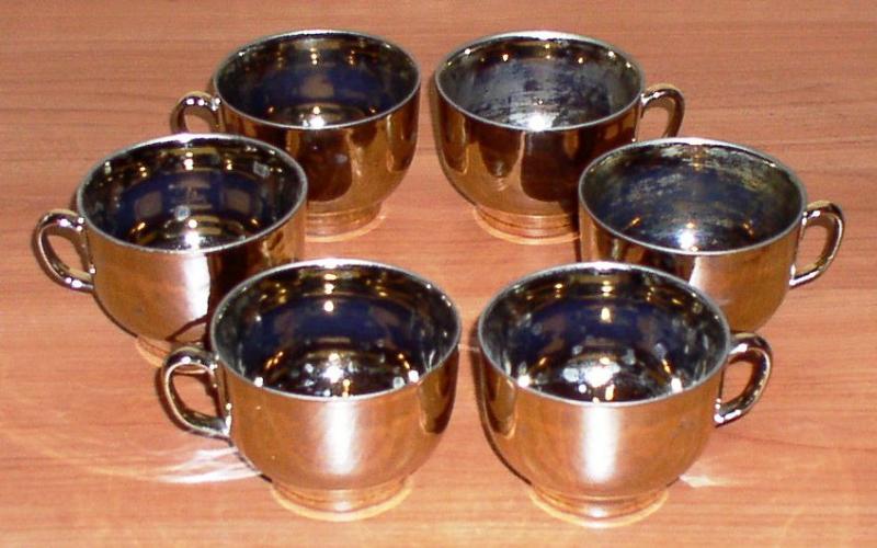 Набор чайных чашек (6 штук) *7113