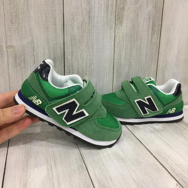 Детские New Balance зеленые