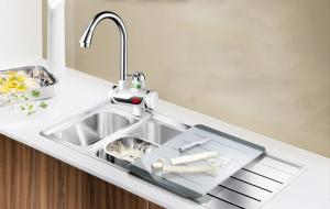 Фото Товары для кухни Проточный цифровой кран-водонагреватель SUPRETTO