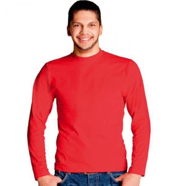 Футболка мужская StanCasual, размер 46, цвет красный 180 г/м 35
