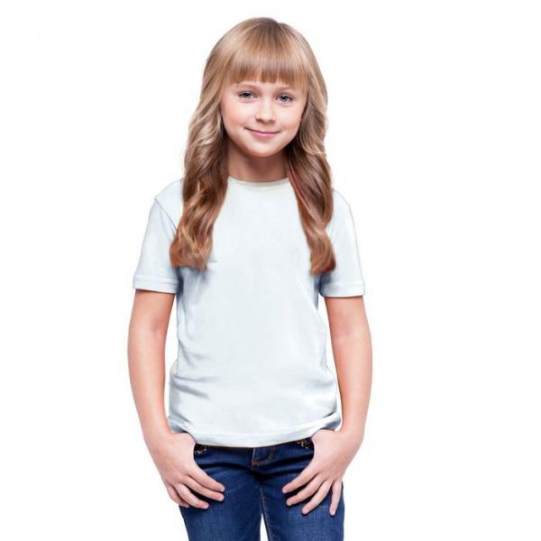 Футболка детская StanClass, рост 164 см, цвет белый 140 г/м 06U
