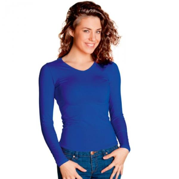 Футболка женская StanFashion, размер 42, цвет синий 180 г/м 32