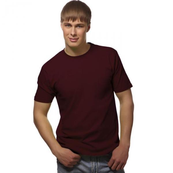 Футболка мужская StanGalant, размер 48, цвет тёмно-шоколадный 150 г/м 02