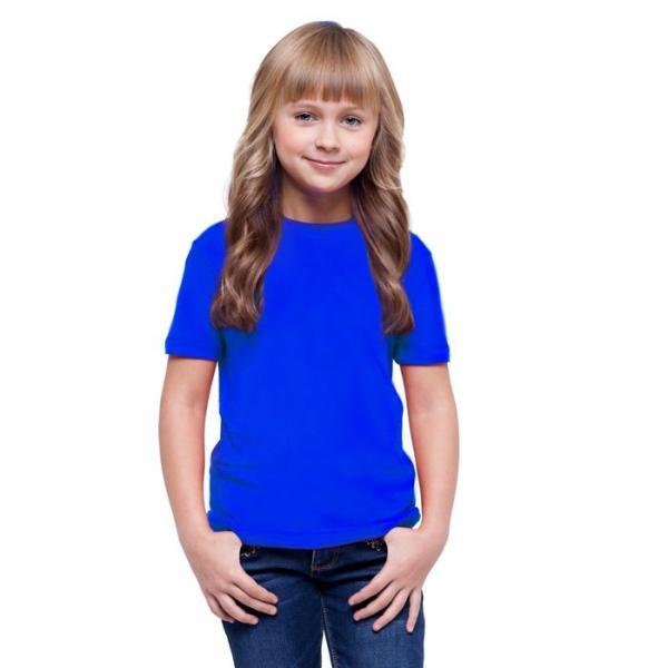 Футболка детская StanClass, рост 164 см, цвет синий 140 г/м 06U
