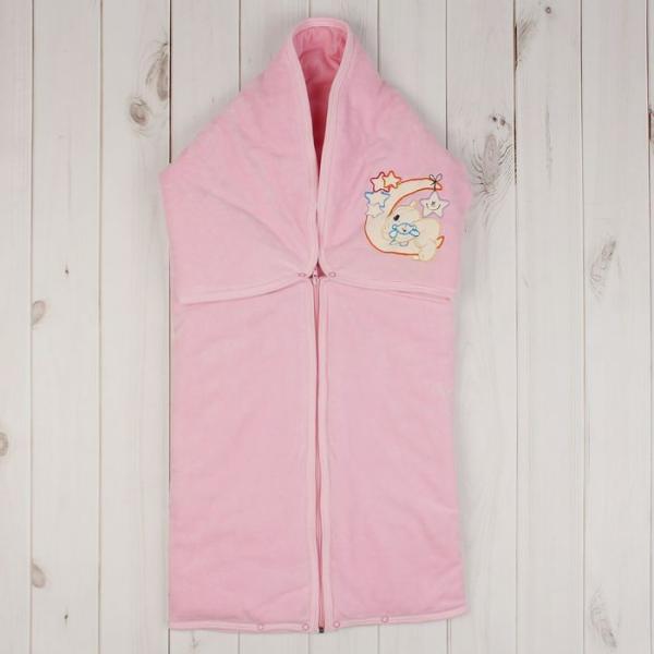 Конверт-плед, рост 68 см, цвет розовый К38