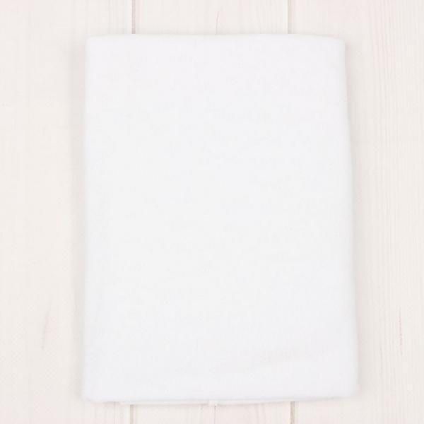 Пеленка, размер 90х110 см, цвет белый 1235