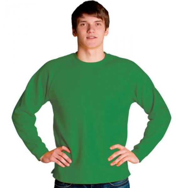 Толстовка мужская StanSweater, размер 54, цвет зелёный 300 г/м 13