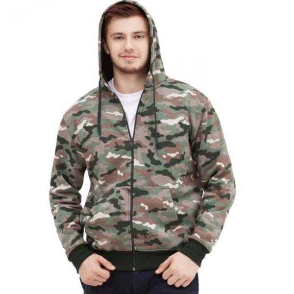 Толстовка мужская StanStyle, размер 48, цвет камуфляж 280 г/м 17