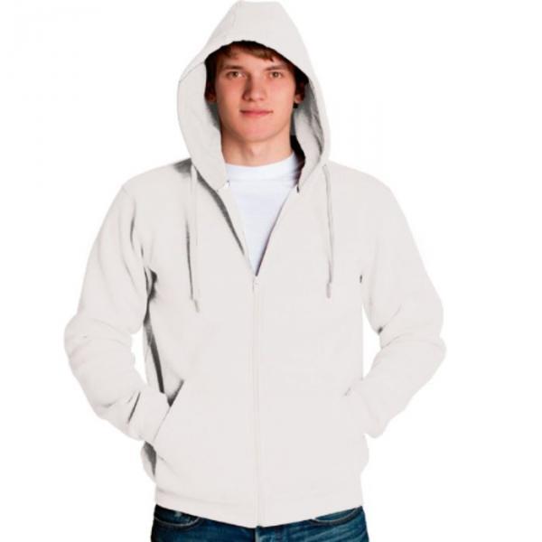 Толстовка мужская StanStyle, размер 52, цвет белый 280 г/м 17