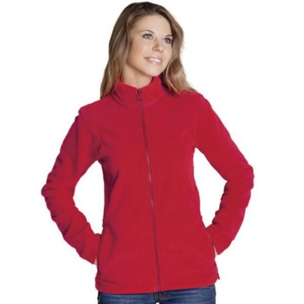 Толстовка женская StanSoft, размер 42, цвет красный 200 г/м 21W