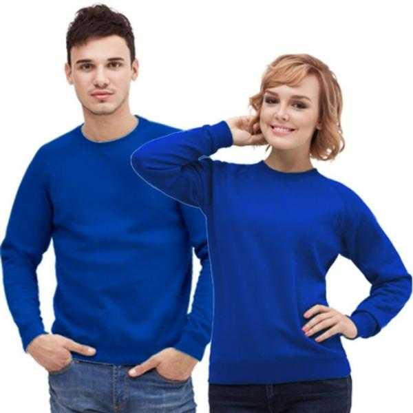 Толстовка муж/жен StanSweatshirt, размер 54, цвет синий 280 г/м 53