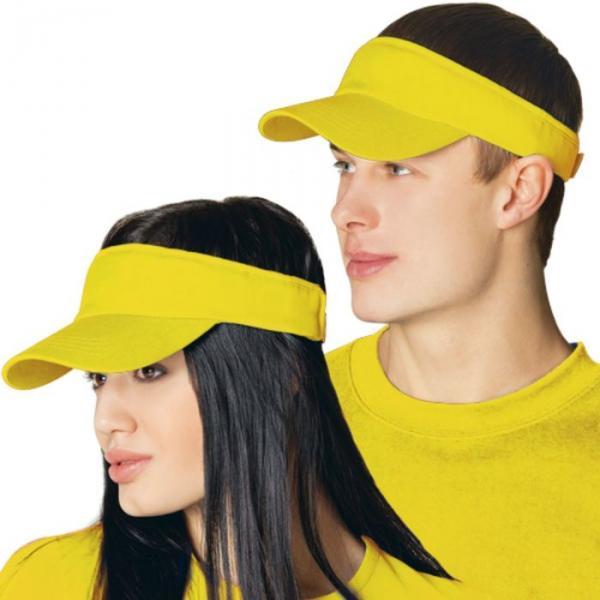 Козырек StanFresh, one size, цвет жёлтый 150 г/м 25