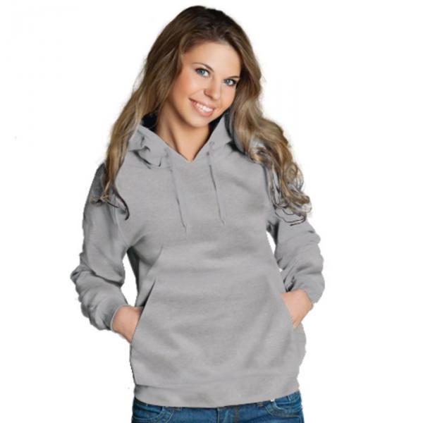 Толстовка женская StanFreedom, размер 42, цвет серый меланж 280 г/м 20W
