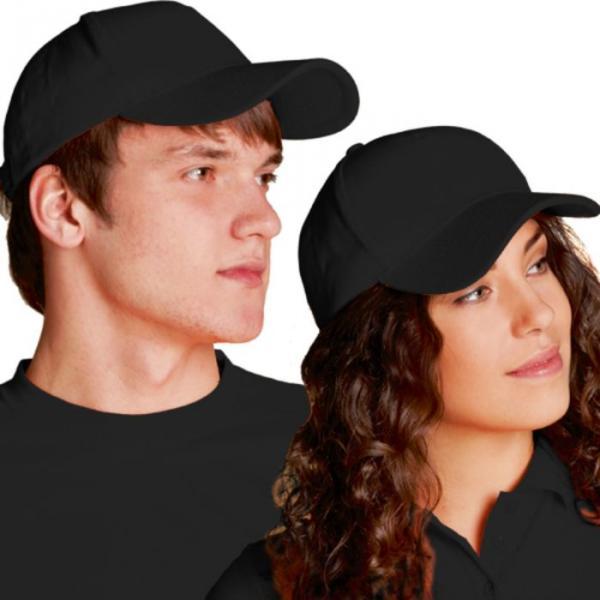 Бейсболка StanComfort, one size, цвет чёрный 200 г/м 11