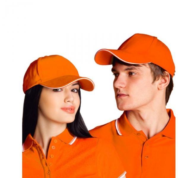 Бейсболка StanSpecial, one size, цвет оранжевый 200 г/м 11К