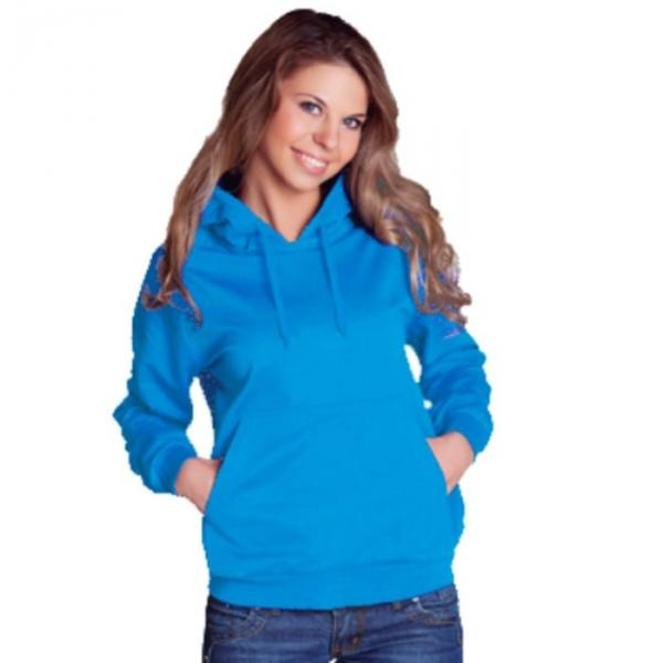 Толстовка женская StanFreedom, размер 46, цвет лазурный 280 г/м 20W