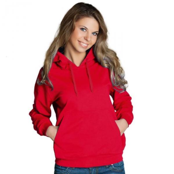 Толстовка женская StanFreedom, размер 46, цвет красный 280 г/м 20W