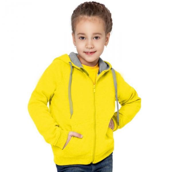 Толстовка детская StanStyleJunior, 8 лет, цвет жёлтый 280 г/м 17J
