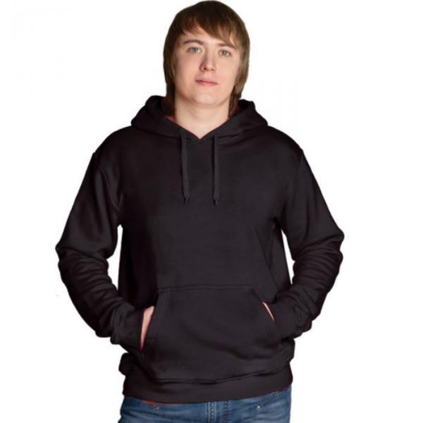 Толстовка мужская StanFreedom, размер 46, цвет чёрный 280 г/м 20