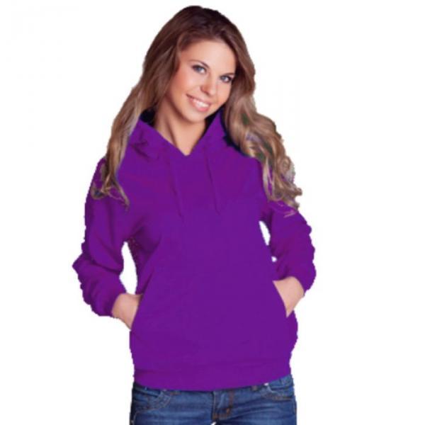 Толстовка женская StanFreedom, размер 44, цвет фиолетовый 280 г/м 20W