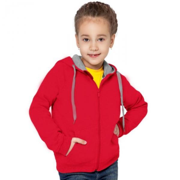 Толстовка детская StanStyleJunior, 6 лет, цвет красный 280 г/м 17J