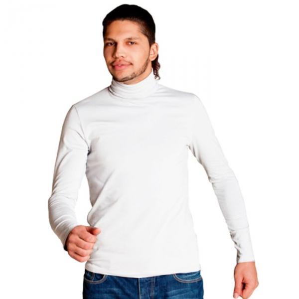 Водолазка мужская StanSmart, размер 50, цвет белый 180 г/м 39