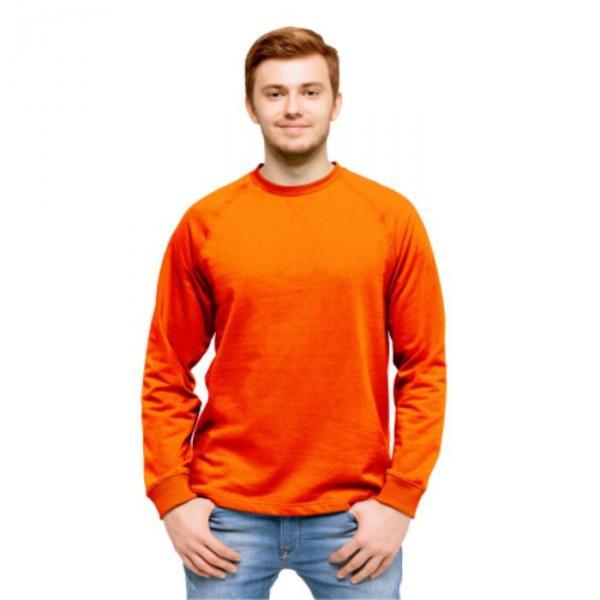 Толстовка мужская StanWork, размер 52, цвет оранжевый 220 г/м 60
