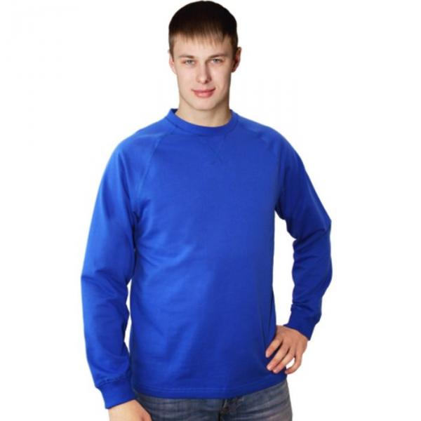 Толстовка мужская StanWork, размер 48, цвет синий 220 г/м 60