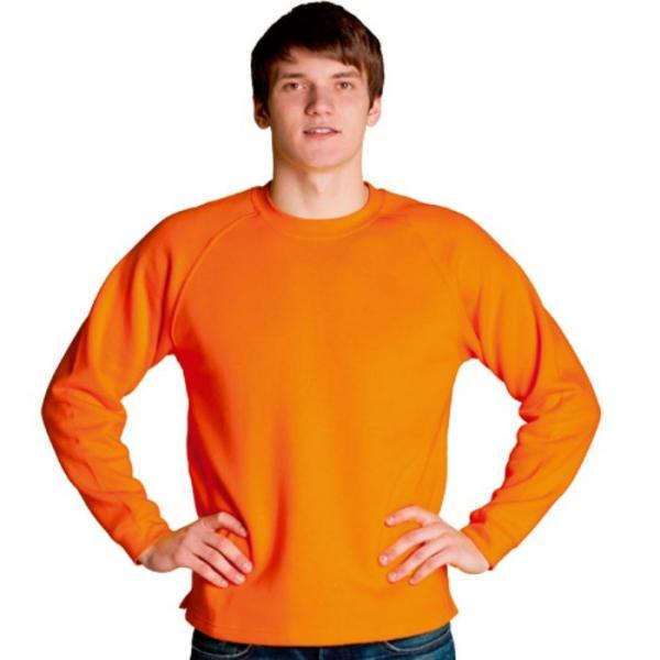 Толстовка мужская StanSweater, размер 48, цвет оранжевый 300 г/м 13