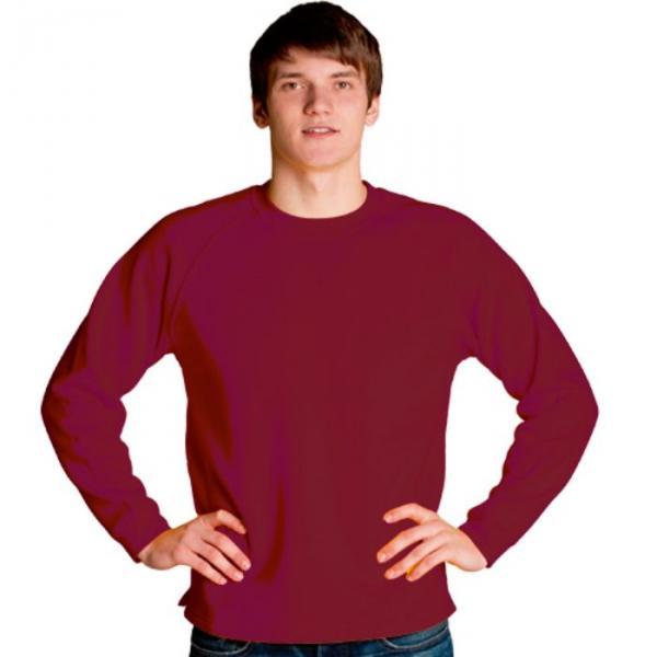 Толстовка мужская StanSweater, размер 46, цвет красный 300 г/м 13