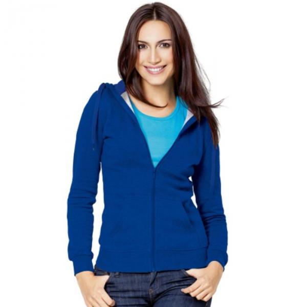 Толстовка женская StanStyle, размер 52, цвет синий 280 г/м 17W