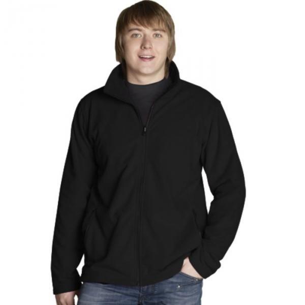 Толстовка мужская StanSoft, размер 52, чёрный 200 г/м 21