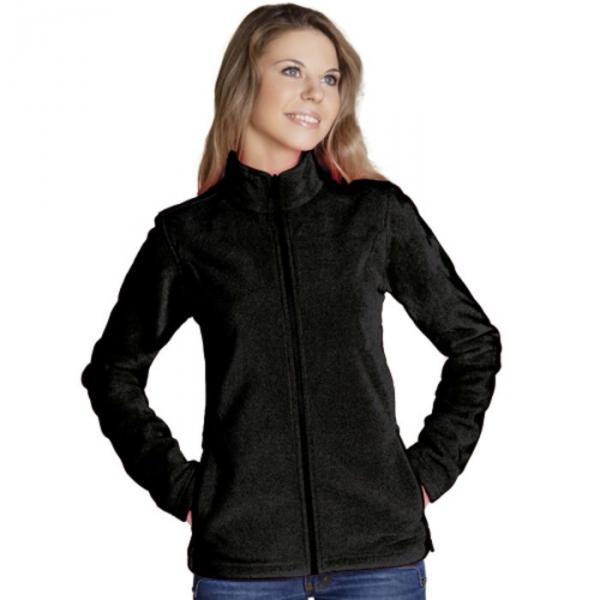 Толстовка женская StanSoft, размер 52, цвет чёрный 200 г/м 21W