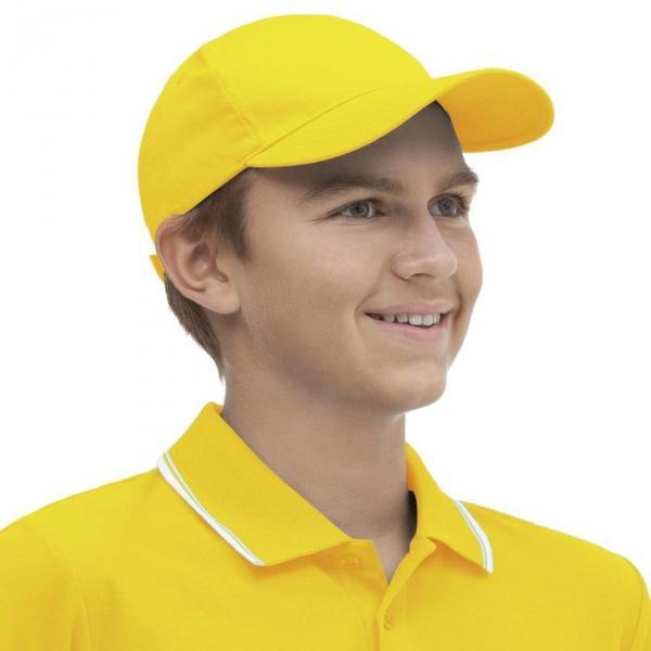 Бейсболка StanClassic Junior, one size, цвет жёлтый 150 г/м 10J