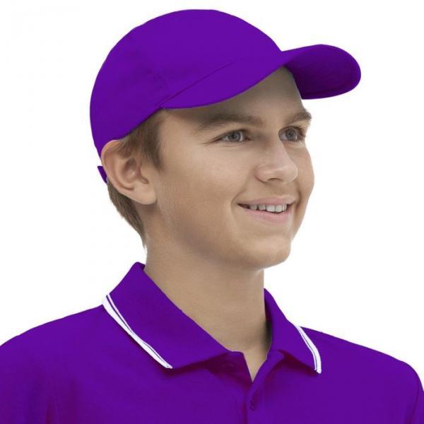 Бейсболка StanClassic Junior, one size, цвет фиолетовый 150 г/м 10J