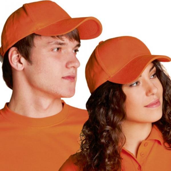 Бейсболка StanComfort, one size, цвет оранжевый 200 г/м 11