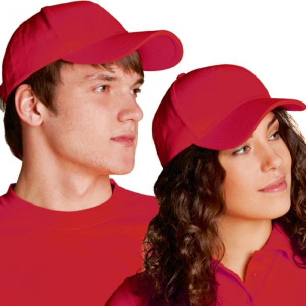 Бейсболка StanComfort, one size, цвет красный 200 г/м 11