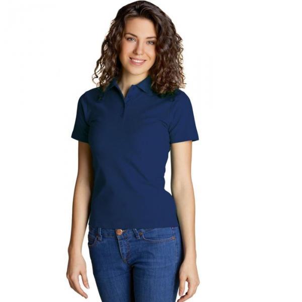 Рубашка-поло женская StanWomen,  размер 50, цвет тёмно-синий 185 г/м 04WL