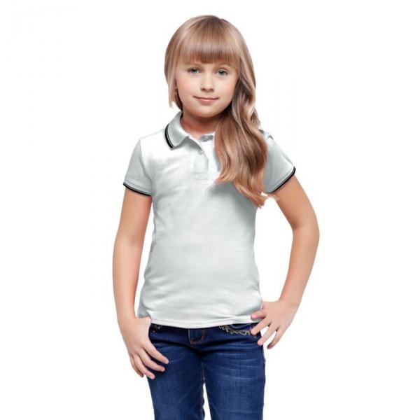 Рубашка-поло детская StanTrophy Junior, 14 лет, цвет белый 185 г/м 04TJ