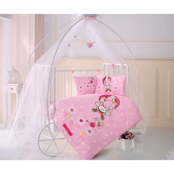 Детское постельное бельё ARICIK , размер 110х160 см, 100х150 см, 35х45 см-2шт., ранфорс,115 гр/м2