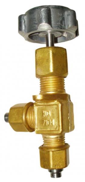 Клапан КС-7104 (АЗТ-10-4/250, ниппель стальной), БАМЗ (710401)