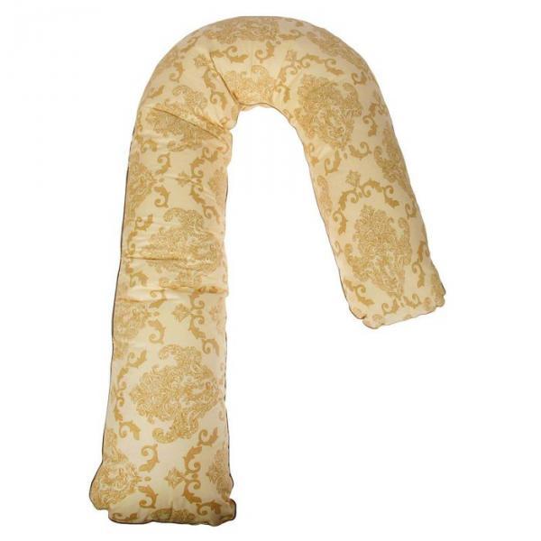 Подушка для беременных, форма L, размер 230х35 см, цвета МИКС