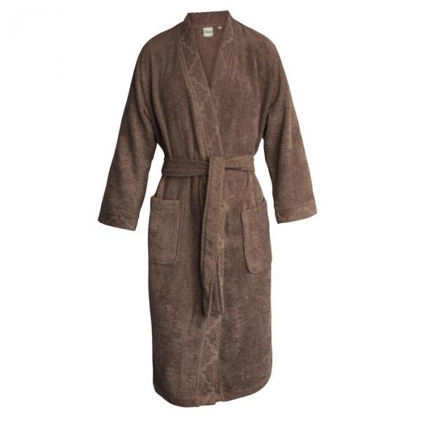 """Халат женский """"Ривьера"""", размер 52, цвет коричневый"""