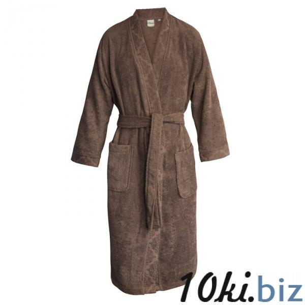 """Халат женский """"Ривьера"""", размер 54, цвет коричневый купить в Гродно - Халаты женские"""