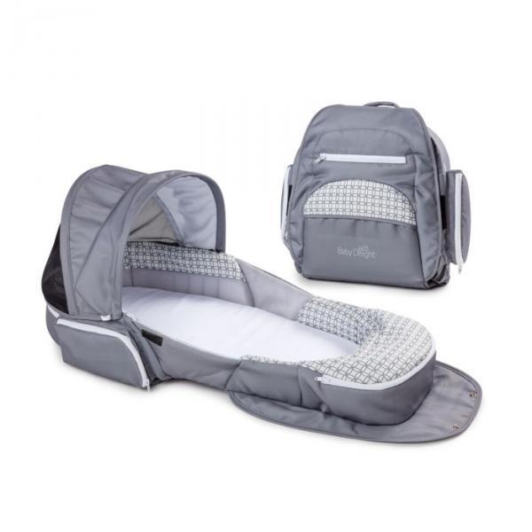 Складная кроватка Baby Delight Traveler XL серая