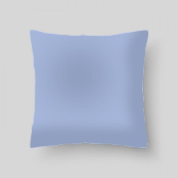 "Декоративная подушка ""Цвет весеннее небо"", размер 40х40 см"
