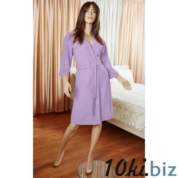 Халат женский Anabel, размер M/L, цвет лаванда, махра купить в Гродно - Халаты женские