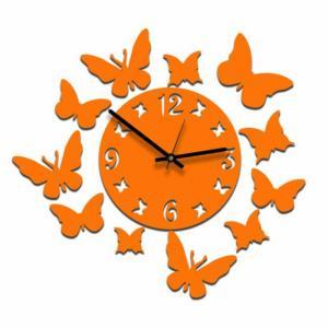 Фото  Настенные часы Бабочки