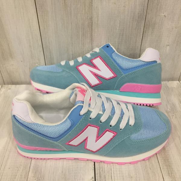 Кроссовки женские New Balance голубые
